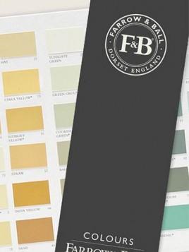 Cartella colori F&B